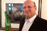 Johannes Selbach from Zeltingen with a 1964 Schlossberg