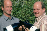 Frank and Marc Adeneuer in Ahrweiler are happy with their 2011s