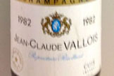 This bottle 1982 Blanc de Blanc from Jean-Claude Vallois in Cuis was disgorged over twenty years ago