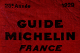 The 25th edition of the Michelin Guide appeared in 1929